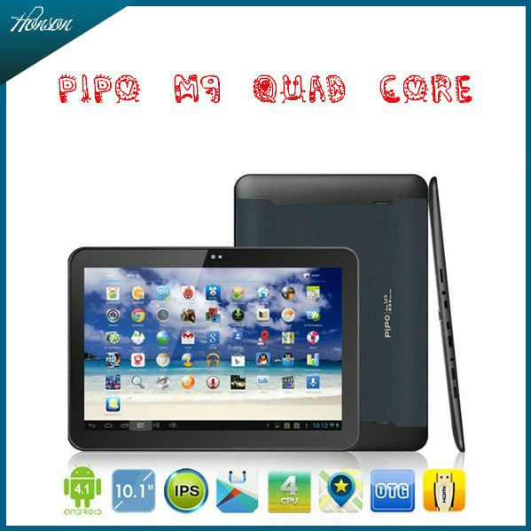 PIPO M9 10 inch RK3188 Quad Core Tablet PC IPS Screen 2G RAM A9 1.8GHZ Android 4.1 Camera WiFi Bluetooth HDMI