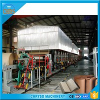 Small Scale Corrugated Paper Recycling Plant and Kraft Paper Making Machine