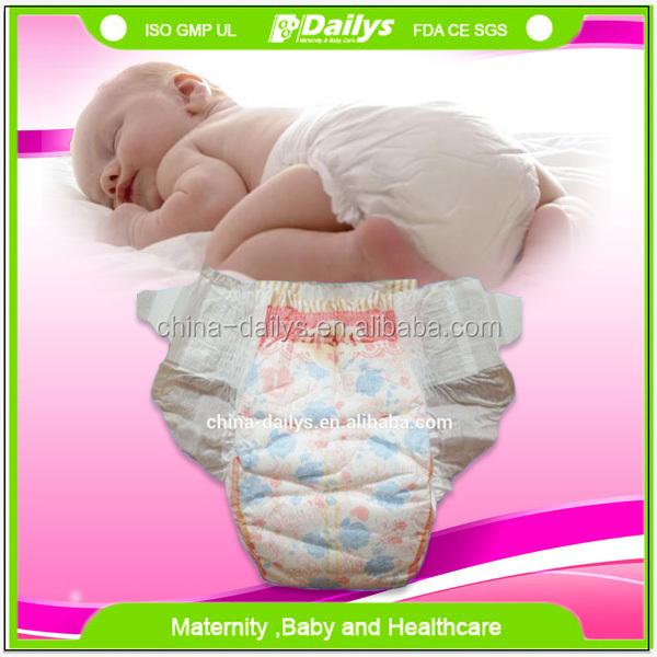 2016 hot sale disposable baby diaper prices made in China