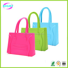 silicone jelly tote bag