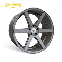 "ZUMBO Z84 Gunmetal alloy wheels for car fit for audi 2017 RS6 alloy wheel made in china 18"" 19"" 20"" 22"" rims"