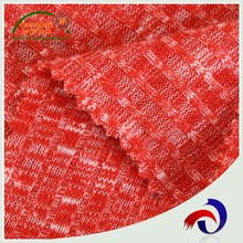 Wholesale TR hacci spandex custom knitted 100% polyester jacquard fabric