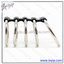 5ring metal gates Cock Rings for Male Erection Enhancement Stay hard and Ejacualtion Delay;