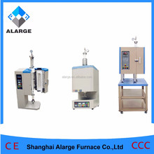 University lab 1700 degree heat treatment vertical tube furnace for preparing LiFePO3 LiMnNiO3 materials