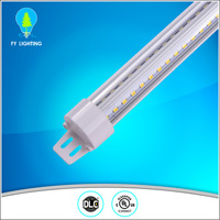 2016 External driver O Shape IP54 cooler door led light T8 tube for Meat area
