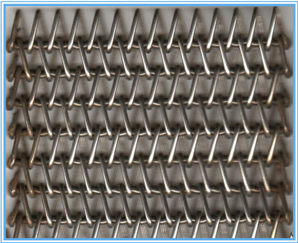 Food grade mesh belt conveyor 304.316.310 radius grid belt for cooling bread,ice cream bake
