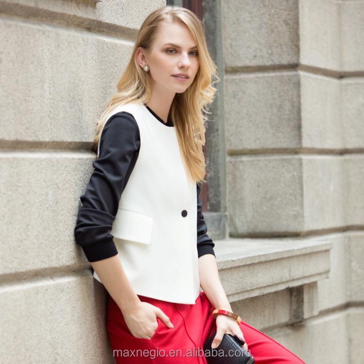 2015 Maxnegio latest office coat designs for women coat model