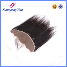 2015 New Products 13x4 Human Hair Straight Nautral Color Lace Frontal Piece, Indian Remy 100% Human Hair Lace Closure