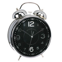 Giant size gents style double bell alarm clock/ German design clock