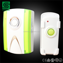 UK/GERMANY model AC220V-250V wireless plug-in doorbell with flash light