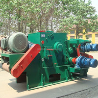 Industrial Forest Beech Tree Wood Chipping and Crushing Machine