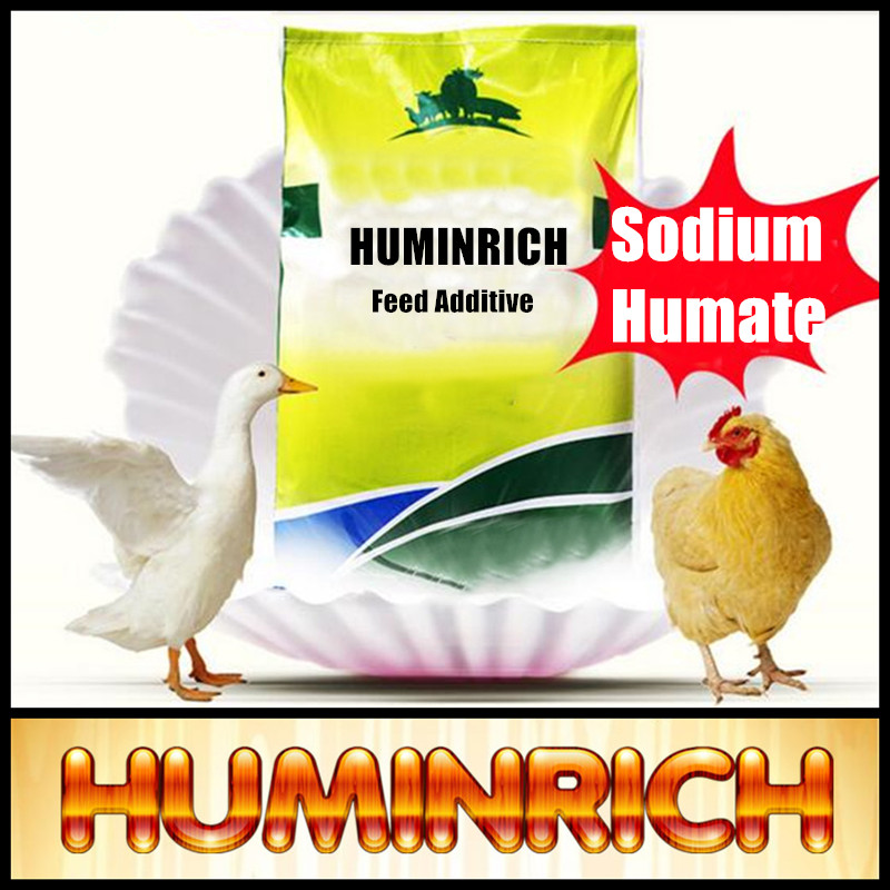 Huminrich 70% Humic Acid For Animal Feed Natural Healthy Sodium Humate Chicken Feed