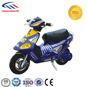china cheap mini moto 50cc by pull start with CE