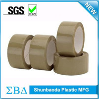 China supplier Brown heat resistant Carton sealing hot melt adhesive bopp packing tape