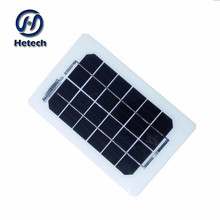 thin film 90g light weight mini flexible solar panel 3w 6v