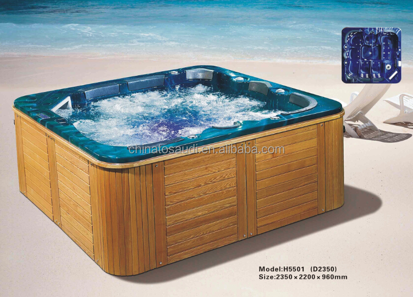 Bathroom bath tub freeestanding acrylic 2 person whirlpool massage bathtubs design