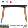 latest designs of 4 leg iron dining table