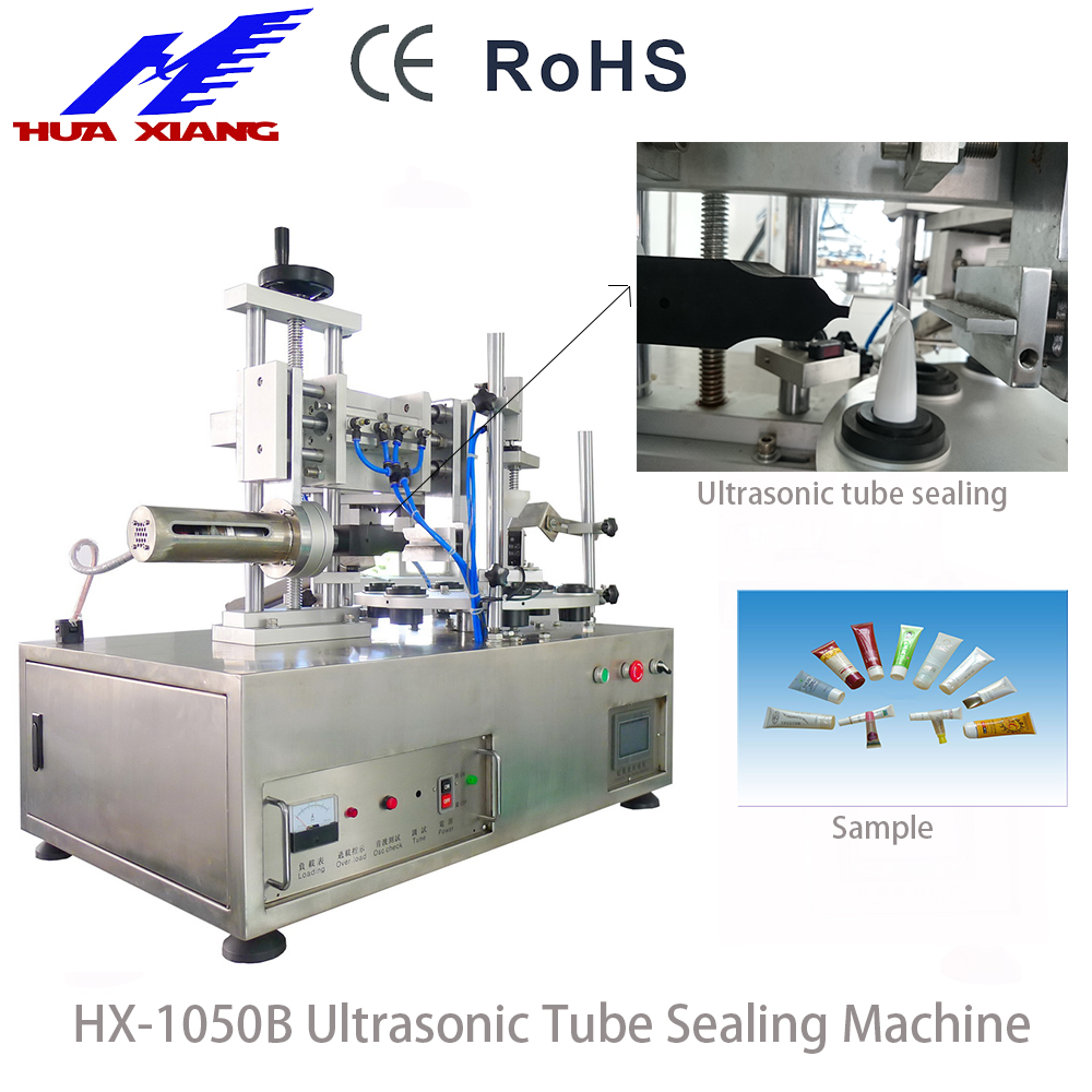 Semi automatic plastic cosmetic soft tube filling sealing machine