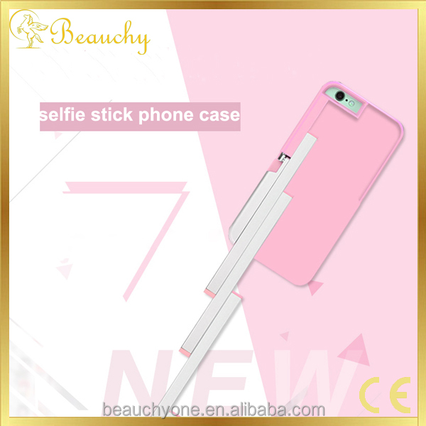 Beauchy selfie stick phone case,mobile phone shell,led phone case