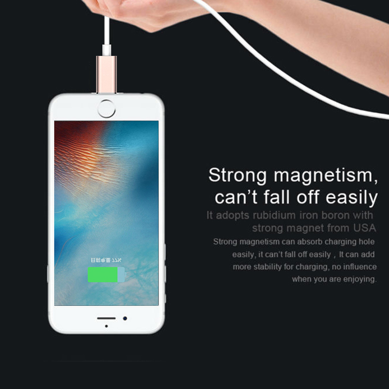 2017 Wholesale power usb cable charger usb data cable magnetic cable for iphone 7/ 6