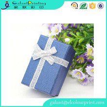 Handmade Small Jewellery Packaging Gift Box Recyclable Paper Box China Factory