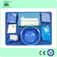Sterile Cesarean Delivery, Caesarean Birth Drape Pack for Obstetrics Procedures Operation