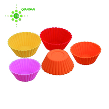 square Silicone Cupcake Liner/Muffin Cake Mold/Muffin Cups