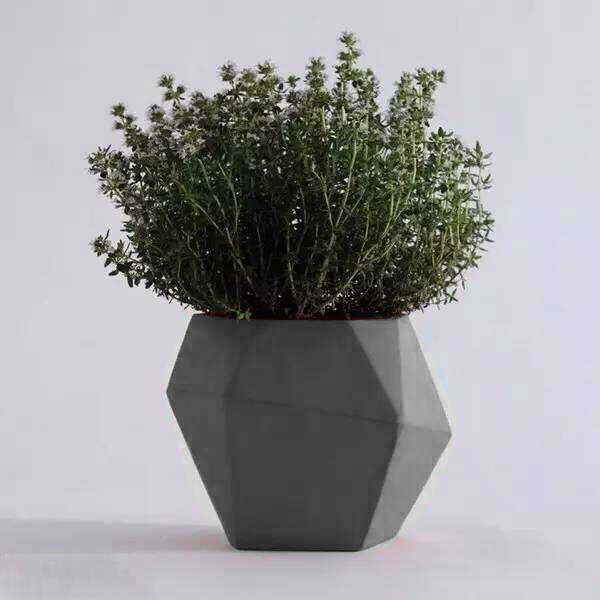 Outdoor Light Chinese Cheap Concrete Bulk Flower Pot