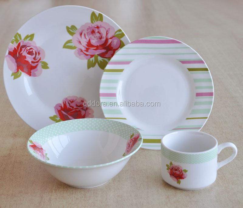 De vaisselle corelle c ramique d ner ensemble porcelaine for Utensilios de cocina de ceramica