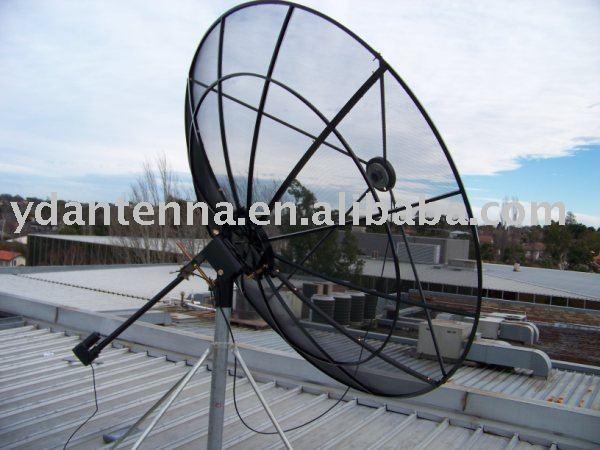 C band satellite mesh dish antenna