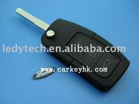 Good quality Ford Focus 3 buttons flip remote key 433Mhz 4D63 chip