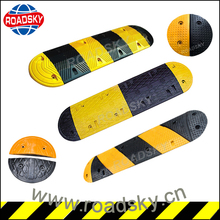 Vehicle Rubber Speed Hump Calming Traffic