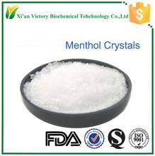 natural food grade menthol crystalline 99%