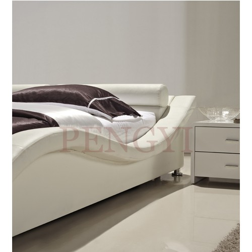 European home furniture pu bed