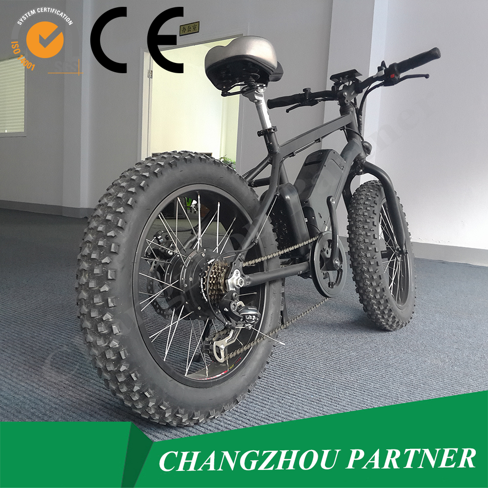 500w Big Power Fat Tire Mountain Electric Bike 48v Beach