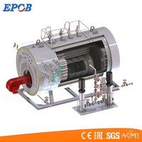 Low Exhaust Temperature Energy Saving Oil Gas Condensing Steam Boiler