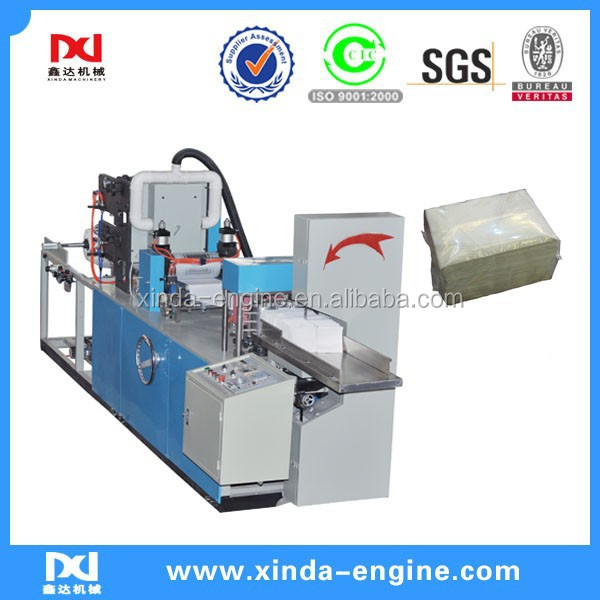 automatic color printing fold paper napkins for restaurants, napkin tissue machine manufacturers