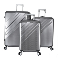 Cabin Hard Shell 4 Wheel Spinner Luggage Carry On Case Suitcase Rolling Hardside Case