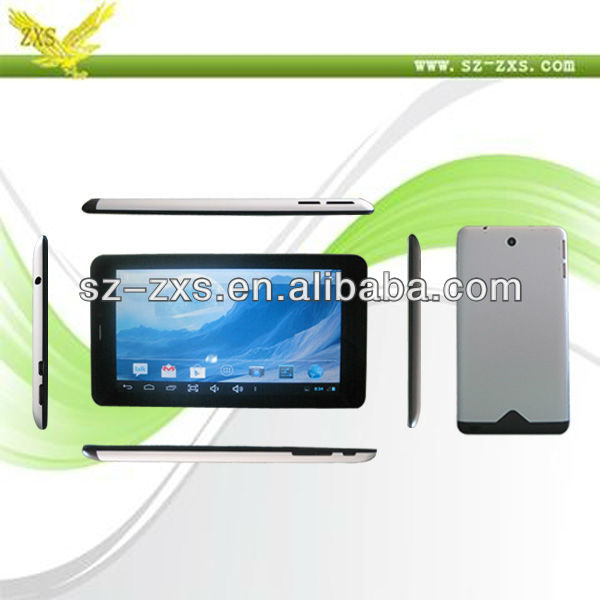Zhixingsheng Mini laptop computer 7 inch with android 4.0 tablet pc phone wholesale very cheap tablet pc with phone call ZXS-A20