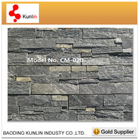 Natural stacked Stone Panel/Decorative Exterior stone Wall