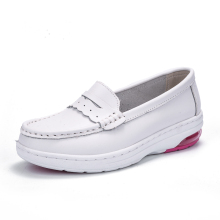 Safarace wholesale nurse shoe women new fashion white shoe anti-slip work shoe for hospital