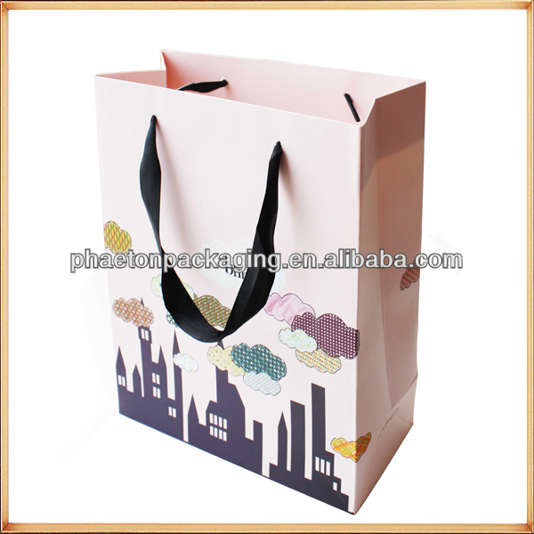 cost production company names of white paper bags for kids