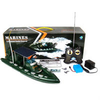 3CH RC Military Speed Boat RC