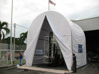 Alum. Tunnel Truss Tent