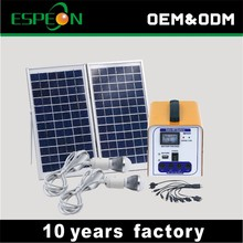 new products 12V DC 10W 20W solar panel 7ah 9ah 12ah battery chinese supplier solar power system home
