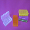 medication storage holder small plastic storage holder battery storage box holder