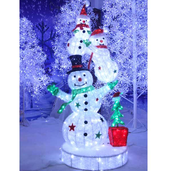 outdoor lighted christmas decoration snowman buy outdoor lighted snowmanled outdoor snowmanlight up snowman product on alibabacom