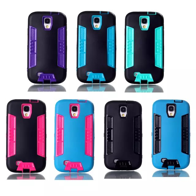 2014 New PC+TPU Cell Phone Case for Samsung Galaxy S4 i9500,China Hot mobile phoen case for Samsung S 4
