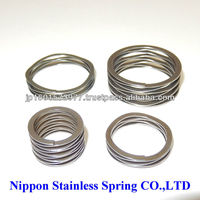 High precision space saving specialty steel spring that can be used in an environment of seawater for cruise ships for sale