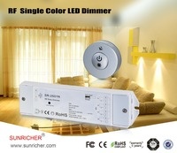 smart size 3Vdc round rf dimmer switch led for furniture